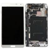 Экран касания LCD сотового телефона для индикации LCD примечания 3 Samsung