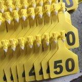 Modifiche di orecchio calde dell'identificazione del bestiame dell'agnello TPU di colore giallo di vendita