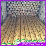 380gsm 300 * 18 * 12 500d PVC bandera de la flexión para el material de impresión