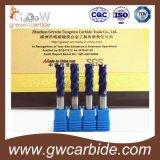 4 de Molens van het Eind van het Carbide van de Neus van de Bal van fluiten met Deklaag