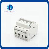 Interruttore miniatura solare/MCB di CC 250V 500V 750V 800V 1000V C63 di PV