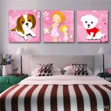 Décoration intérieure Peinture à l'huile Images Cute Cartoon Canvas Prints for Children Room
