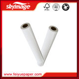 Rolo pegajoso e foleiro do papel do Sublimation de 105GSM 914mm*36inch para a impressão do Inkjet