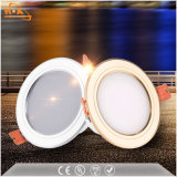 Couvercle de plastique Downlight Led de 5 watts Downlight évidement Downlight de montage