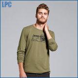 Merk van uitstekende kwaliteit 100% de Gekamde T-shirt van de Katoenen Mensen van Af:drukken