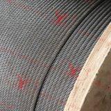 Cuerda de alambre inoxidable de la alta calidad 8X19s
