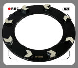 абразивный диск диаманта 250mm/конкретное колесо молотилки