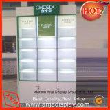 Étagères de maquillage et de maquillage en bois Stand d'affichage pour magasins