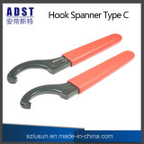 バイトホルダーのための高い硬度のホックのタイプスパナーのスパナー