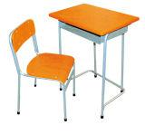 Madeira contraplacada de alta qualidade promocionais Aula Madeira barata mesa e cadeira Mobiliário escolar