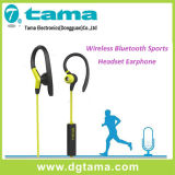La cuffia avricolare stereo di Bluetooth del nuovo Neckband mette in mostra il trasduttore auricolare senza fili con il microfono