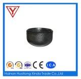 Alta calidad de la tapa del extremo del tubo de acero al carbono
