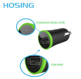 Carregador do carro do USB do carregador do telefone móvel mini para acessórios do telefone
