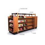 Stand d'affichage en bois pop pour livres, étagère d'affichage publicitaire