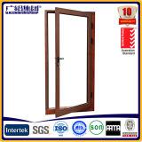 Doppeltes Schwingen schwenkbar gelagert und Flügelfenster-Tür mit freiem Glas 12mm