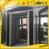 Puerta corredera de aluminio personalizada Puerta interior de aluminio