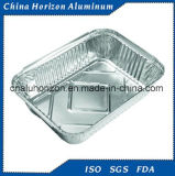Wegwerfaluminiumfolie-Tellersegment für Backen