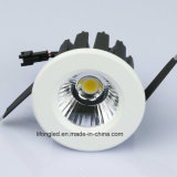ESPIGA cortada 60mm Downlight 9W de Dimmable do TRIAC