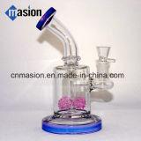 Tubo de agua de cristal de los accesorios que fuma (AY016)