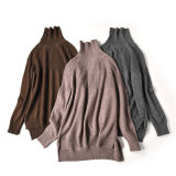 Maglione merino dei lavori o indumenti a maglia del Turtleneck delle lane di alta qualità all'ingrosso