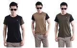 3 T-shirt van de Koker van de Zomer van de Manier van kleuren de Openlucht Nylon Korte