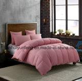 Duvet/Quilt/Comforter materiais do algodão da fibra de poliéster para o hotel