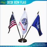 3 support en plastique mini porte-drapeau drapeau de bureau (J-NF09M04001)