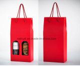 Blanco Cartón corrugado impreso personalizado Caja de vino