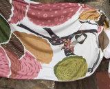نساء نابض [شفّون] طباعة شاي [سونسكرين] لفاف رأس وشاح ([سو115])