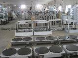 Fabricant de crêpes électriques à usage professionnel à double tête populaire à vendre (2 plaques / tête)