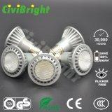 セリウムのRoHS普及したLEDの同価ライトPAR20 7Wは白いLEDライトを暖める