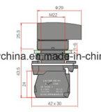 22mm de Langere Schakelaar van de Drukknop van het Type van Handvat IP40