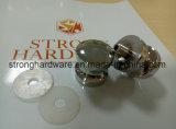 Нержавеющая сталь кнопки Односторонняя небольшой ванной комнатой на ручке двери