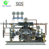 compresor del hidrógeno del diafragma de la ocupación de la presión de funcionamiento 20MPa pequeño