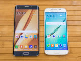 最新の製品のオリジナルによってロック解除される新しい携帯電話S7/S7の端の人間の特徴をもつスマートな電話