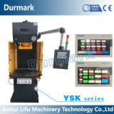 La marca Y41-1.6tons di Durmark sceglie la macchina di timbratura idraulica della pressa della colonna, macchina manuale della pressa della mano