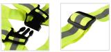 Mnsdストラップの黄色の安全ベストの反射ベストのChaleco Reflectanteの反射ベストの反射Weste