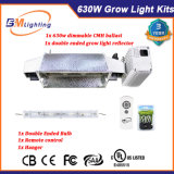De Double-Ended Hidroponia Kits de iluminação do reflector Growlight 630W