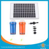 Солнечные света с 3W СИД, солнечным факелом, солнечным электрофонарем