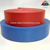 Helles rotes blaues flaches Nylongewebtes material 1.5 Zoll-(38mm) für Schultergurte
