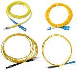 Koord van het Flard van de Vezel van Sc/LC/St/FC Sm/mm het Simplex/Duplex Optische