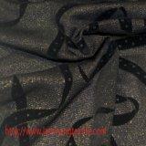 DOT Flocagem de tecido Tecido de tecido de nylon Tecido para camisa de vestir Cortina de saia Têxtil doméstico