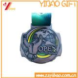 Античная латунная золотая медаль Plted с подарком монетки медальона логоса клиента (YB-HD-33)