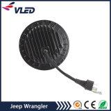지프 기관자전차 Offroad 차량을%s 논쟁자 Jk 부속품 7 인치 둥근 LED 헤드라이트