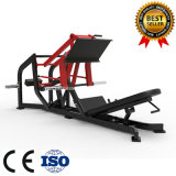 Placa de potência do martelo carregado Linear 45 graus Leg Press equipamento de ginásio fitness