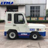 2.5 Tonnen-dieselbetriebener Gepäck-Schleppen-Traktor verwendet im Flughafen