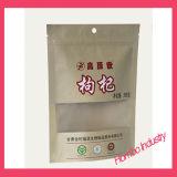 Sac à bandoulière en emballage personnalisé Sac à fermeture à glissière autoportant