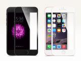 3D gebogener weicher runder Kohlenstoff-Faser-Volldeckung-Bildschirm-Schoner für das iPhone 7 Plus