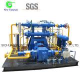 Compresor de gas del petróleo del campo petrolífero de la refrigeración por agua para la industria química