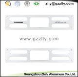 El panel de aluminio del perfil de los accesorios de aluminio para el vídeo audio